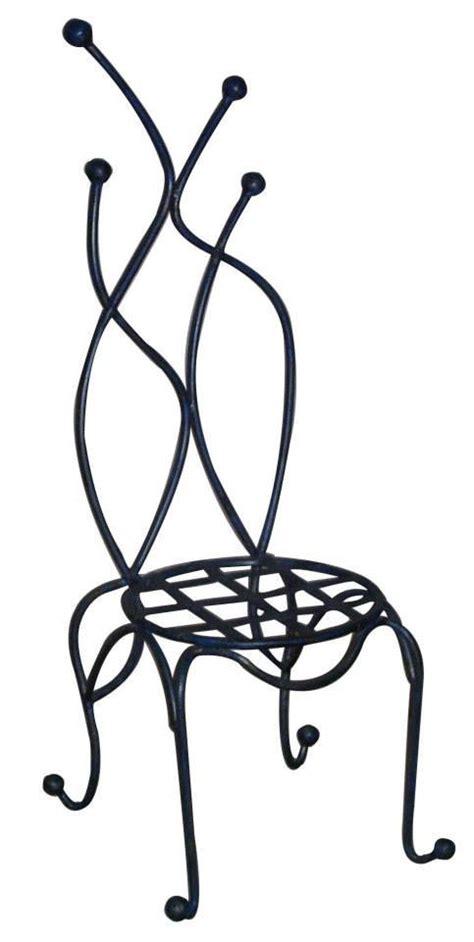 chaise en fer forg 233 design contemporain r 233 alis 233 e 224 la