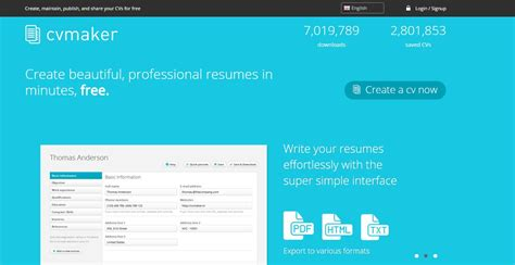 5 best to create cv resume for free ashik