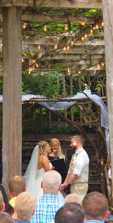 Beautiful Outdoor Wedding Ceremony at The Gardens of