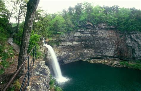 Desoto Falls Alabama From The Natural Beauty Of Alabama
