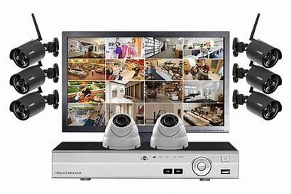 System Security Surveillance Cctv Camera Monitoring Lorex