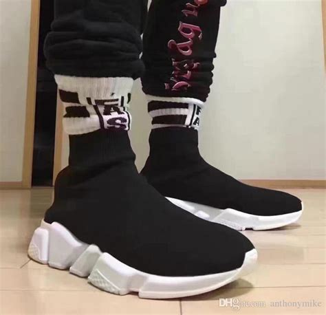 Boat Shoe Socks Aliexpress by 2017 Wholesale Speed Trainer Black Casual Shoes And