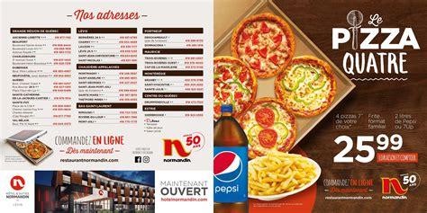 normandin menu prices pizza menu