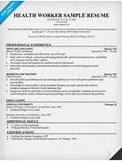 Mental Health Worker Resume Sample Resume Format Health Care Recruiters Candidates Resumes Samples Ontario ON Canada Excellent Health Care Resume Objective And Builder Sample Healthcare
