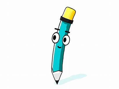 Pencil Pen Animated Gifs 3d Sketch Pensil