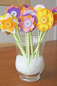 Blumen Aus Papier : blumen basteln mit kindern aus papier filz und plastik 16 kreative ideen ~ Udekor.club Haus und Dekorationen