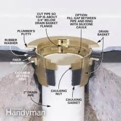 How To Install Linear Shower Drain by How To Install A Fiberglass Base Over Concrete The