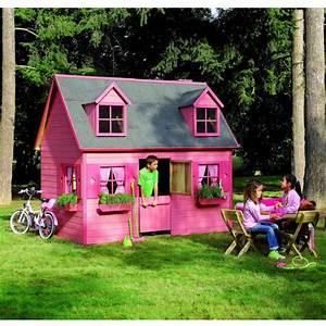 Maison Pour Enfant En Bois : petite maison en bois pour enfants 248x160x240cm cerland ~ Premium-room.com Idées de Décoration
