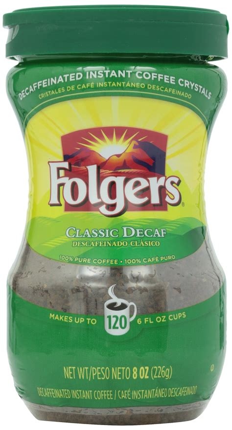 They take that instant powder, and then liquify it. Amazon.com : Folgers Classic Roast Instant Coffee, 8 Ounce (Pack of 3) : Grocery & Gourmet Food