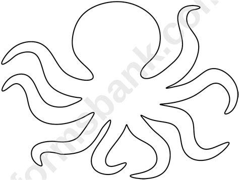octopus pattern template printable