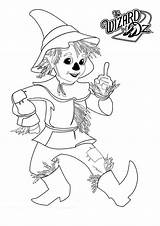 Oz Wizard Coloring Scarecrow Pages Tin Drawing Printable Characters Sheets Lion Kayak Scarecrows Silhouette Adult Templates Wizards Getdrawings Yahoo sketch template