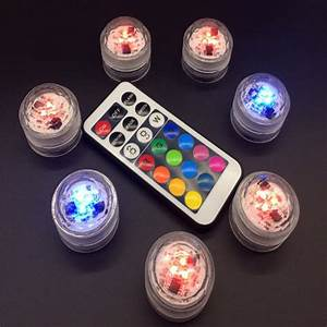 Led Licht Batterie : buy 1 pc new remote control led candle light waterproof change to the battery ~ Watch28wear.com Haus und Dekorationen