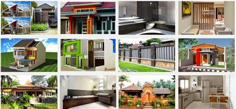 desain rumah sederhana pedesaan kampung type  minimalis