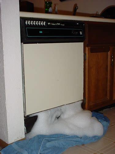 dishwasher suds overflow suds overflow baumatic dishwasher