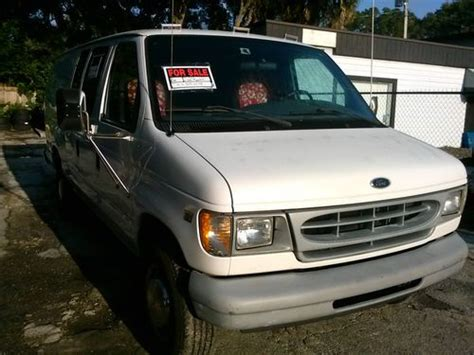 old car owners manuals 2000 ford econoline e350 parking system sell used 2000 ford e350 econoline 7 3 power stroke in plant city florida united states for
