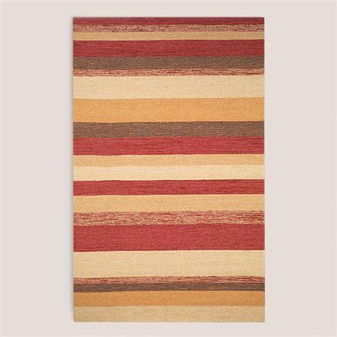 Stripe Outdoor Rug by Striped Indoor Outdoor Rug World Market