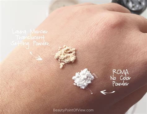rcma no color powder ingredients setting powder battle point of view