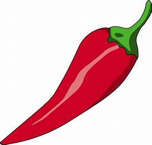 Chili clipart transparent - Pencil and in color chili ...