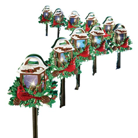 holiday living 10 ct path lights outdoor lighting landscape lights sears