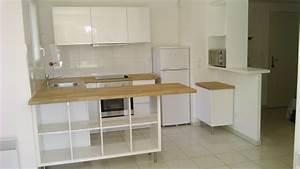 Separation de cuisine avec kallax bidouilles ikea for Petite cuisine équipée avec meuble de rangement salle a manger pas cher