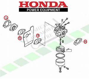 Honda Gcv160 Carburetor Insulator And Gasket Installation