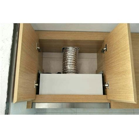 mm pulling type embedded range hood small stainless