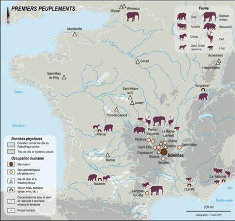 Carte Des Grottes Préhistoriques En by Pr 233 Histoires De Jacques Jaubert Hominid 233 S
