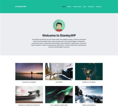 wordpress themes bootstrap  monthlythemescom