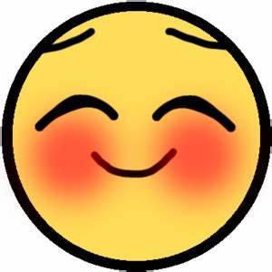 Blushing Emoticon - ClipArt Best