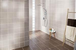 Carrelage Douche à L Italienne : douche l 39 italienne quel carrelage rev tement au sol ~ Melissatoandfro.com Idées de Décoration