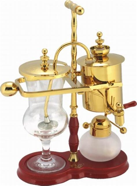 True connoisseurs say that coffee from a syphon coffee maker has its own special qualities. Belgium coffee pot/ Balancing syphon | tradekorea