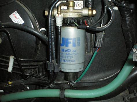remplacement filtre gazole sur fiat  jtd fiat