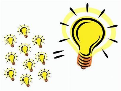 Idea Clip Clipart Bulb Bright Invention Innovation