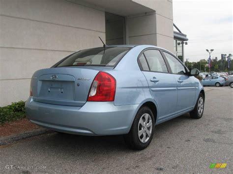 Hyundai Accent 2008 by 2008 Blue Hyundai Accent Gls Sedan 18446695 Photo 3