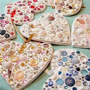 Mosaik Basteln Mit Kindern : valentine mosaic hearts mosaik basteln mit kindern und ~ Lizthompson.info Haus und Dekorationen