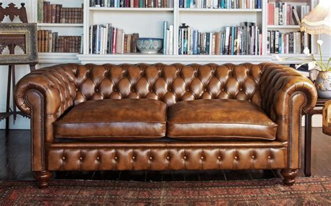 Chesterfield Settee by Home Chesterfields1780 Chesterfield Settees Antiqued