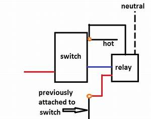 how do you install a vision in wall dual relay on a 3 way With 4 way switch relay