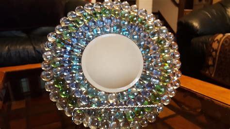 mirrored plate  gems dollar tree crafts youtube