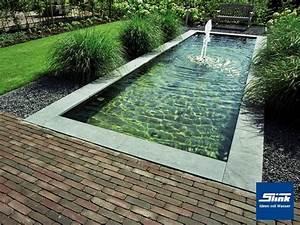 Wasserbecken Aus Beton : gfk teichbecken wasserbecken rechteckig 300 x 100 x 40 cm ~ Michelbontemps.com Haus und Dekorationen