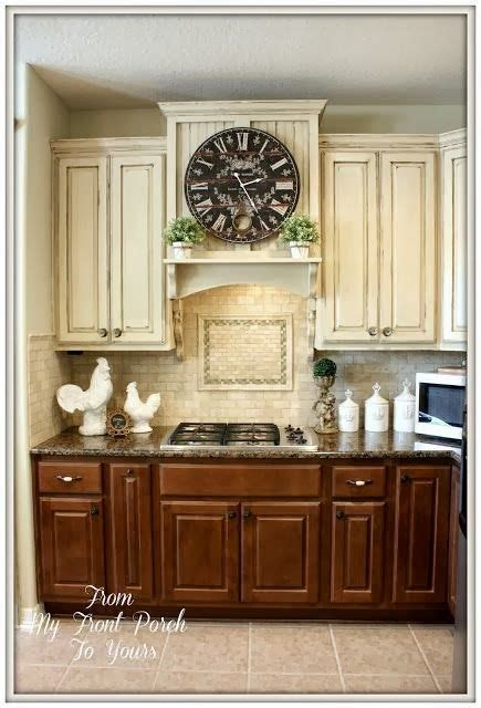beforeand beautiful  country kitchen