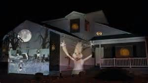 Holiday Projector Lights by 2011 Halloween House Projection Live Full Show In Hd