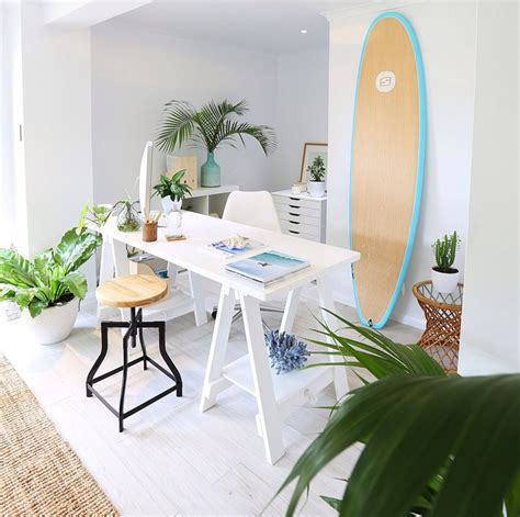 surfboards  work perfectly  beach chic decor