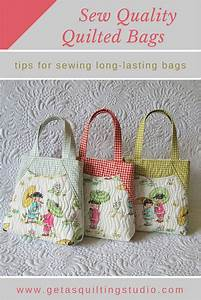 Learn To Sew Long Lasting Quilted Bags With Professional Look