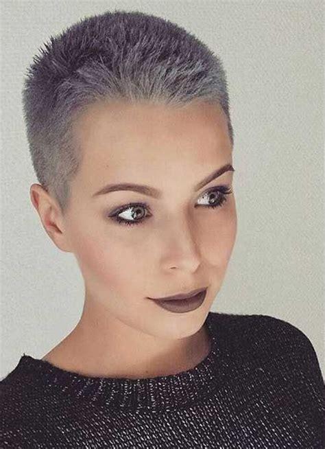 days  popular short grey hair ideas silver