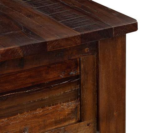 Bowry Reclaimed Wood Coffee Table  Pottery Barn