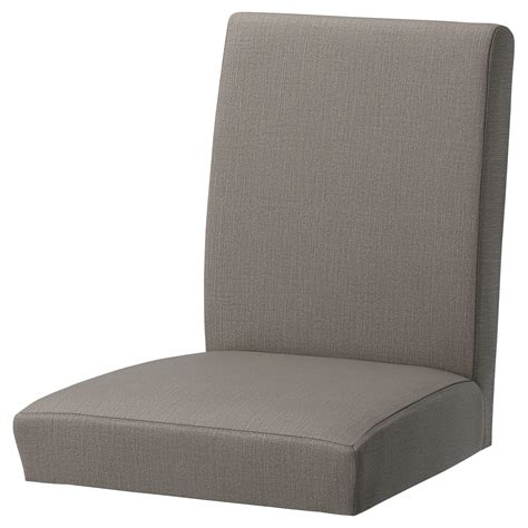 ikea coussin chaise henriksdal chair cover nolhaga grey beige ikea