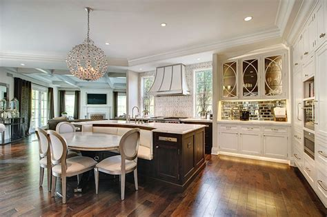 built in kitchen islands with seating 35 large kitchen islands with seating pictures designing idea