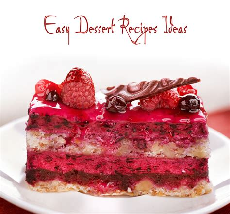 easy dessert recipes ideas photos elsoar