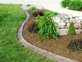 lowes garden flower bed edging ideas all home ideas and