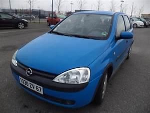 Opel Corsa Bleu : object moved ~ Gottalentnigeria.com Avis de Voitures